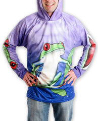TREE FROG Hoodie Chomp Shirt by MOUTHMAN®