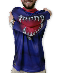 SUPERHERO Hoodie Sport Shirt by MOUTHMAN®