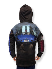 Mouthman® MotorMouths™ NEW YORK Car Hoodie - Back