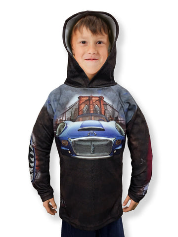 Mouthman® MotorMouths™ NEW YORK Car Hoodie - Front