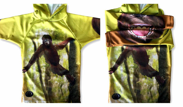 ORANGUTAN BUDDY Sport Shirt by MOUTHMAN®
