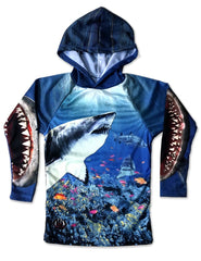 SHARK TANK 3D Hoodie Chomp Shirt by MOUTHMAN®