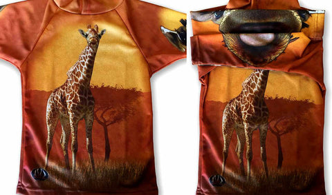 NEW!!! MOUTHMAN® GIRAFFE Hoodie Sport Shirt | Youth unisex