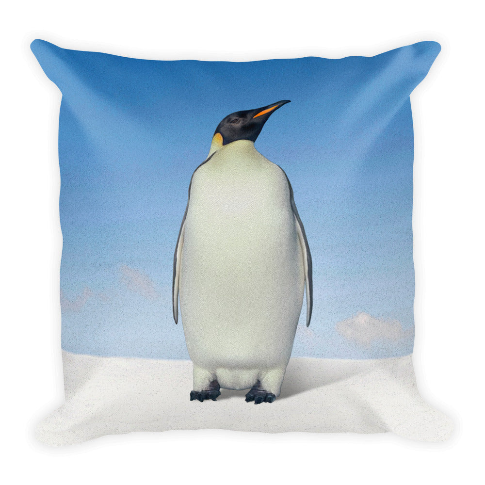 Penguin Square Pillow by Mouthman®