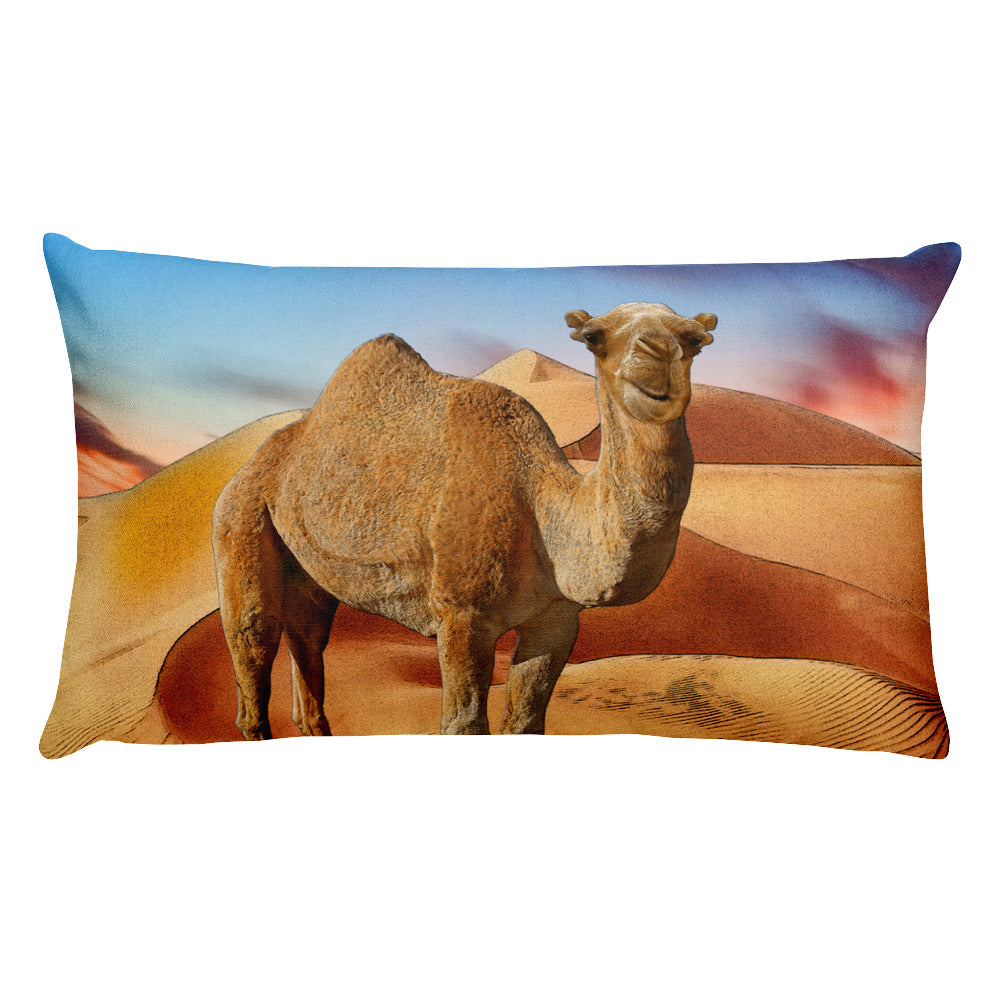 Camel Rectangular Pillow by Mouthman®
