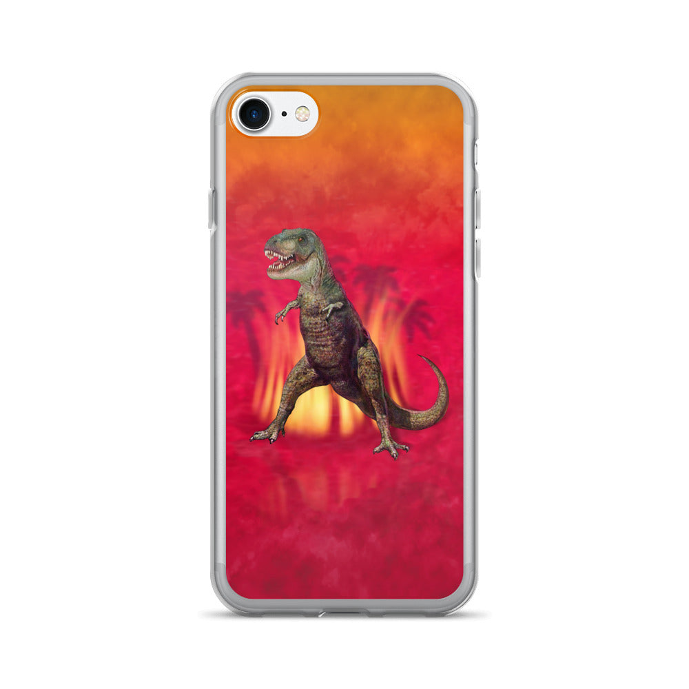 T-REX RED iPhone 7/7 Plus Case by Mouthman®