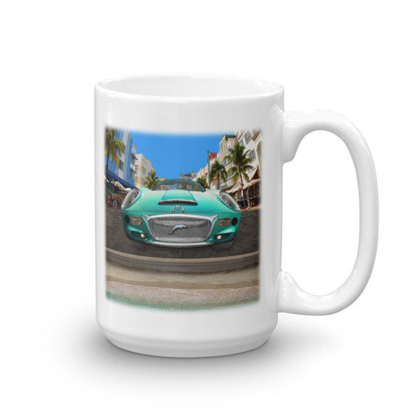 MOTORMOUTHS MIAMI 15-Ounce Mug by Mouthman®