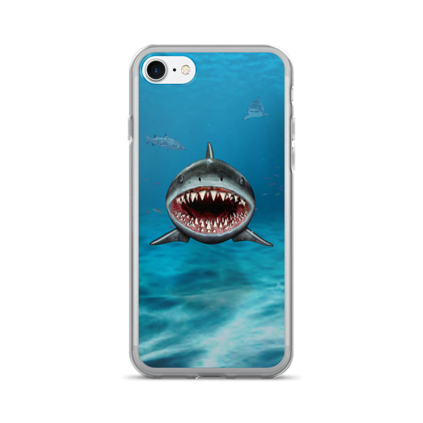 SHARK 3D iPhone 7/7 Plus Case by Mouthman®
