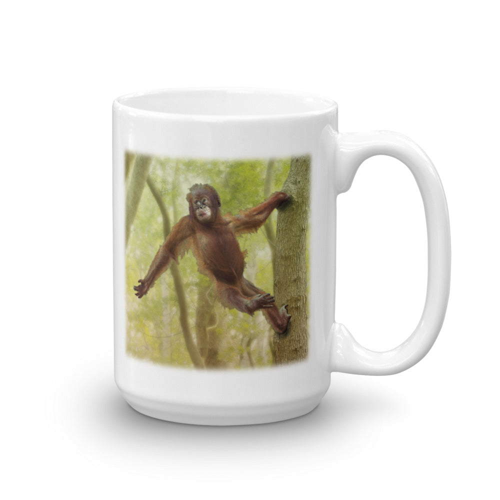 ORANGUTAN 15-Ounce Mug by Mouthman®