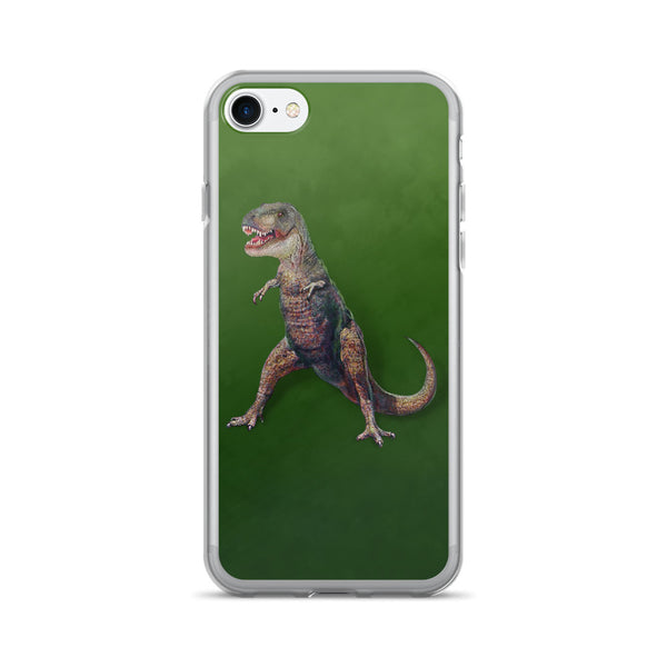 T-REX GREEN iPhone 7/7 Plus Case by Mouthman®