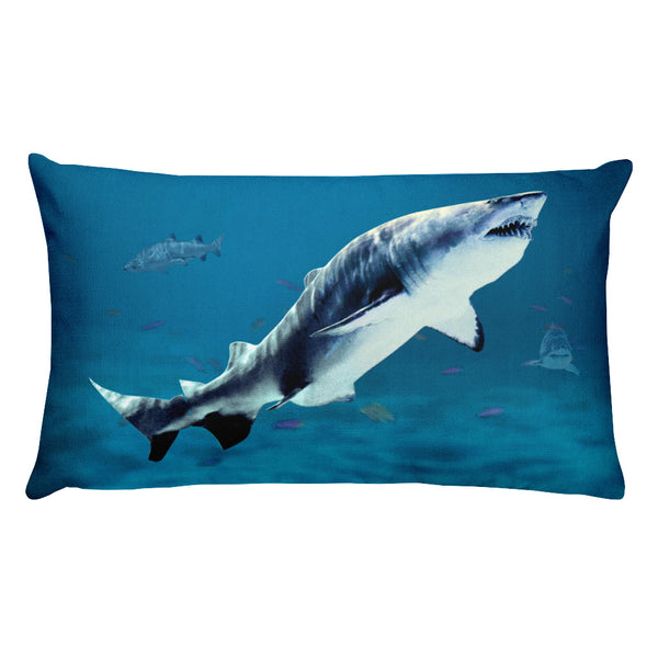Shark Rectangular Pillow by Mouthman®