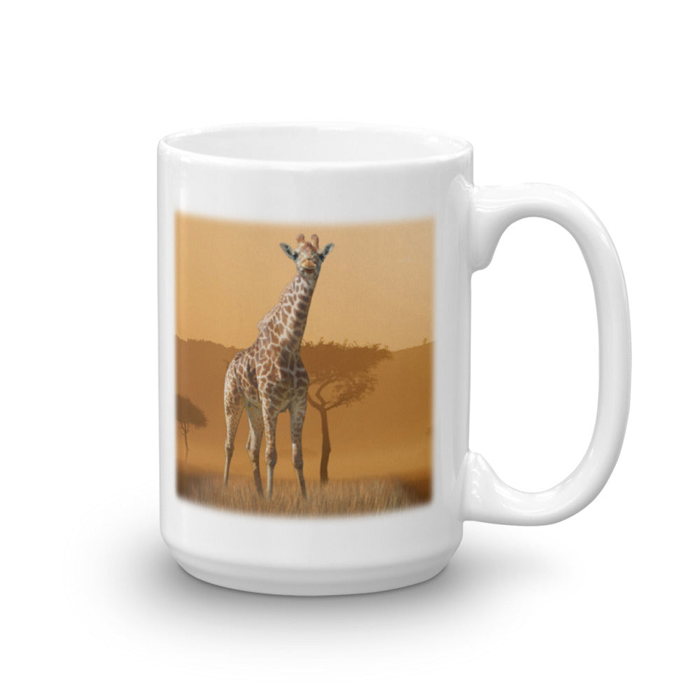 GIRAFFE 15-Ounce Mug by Mouthman®