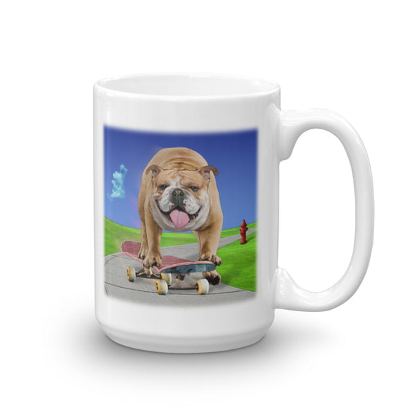 BULLDOG 15-Ounce Mug by Mouthman®