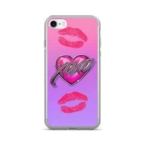 XOXO iPhone 7/7 Plus Case by Mouthman®