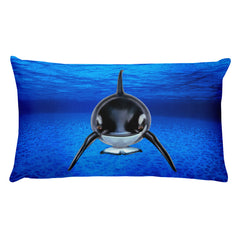 Orca Rectangular Pillow by Mouthman®