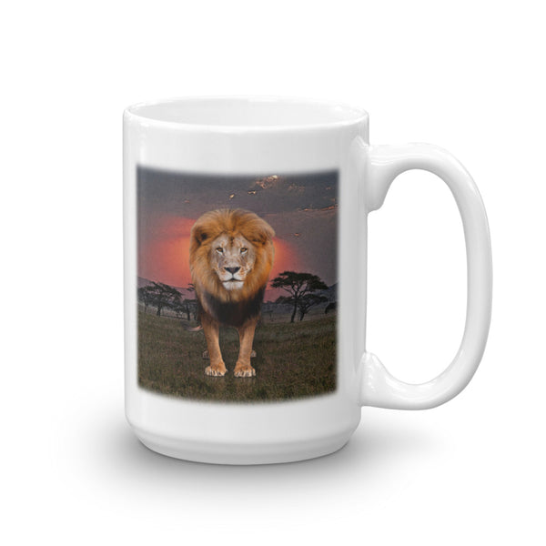 LION 15-Ounce Mug by Mouthman®