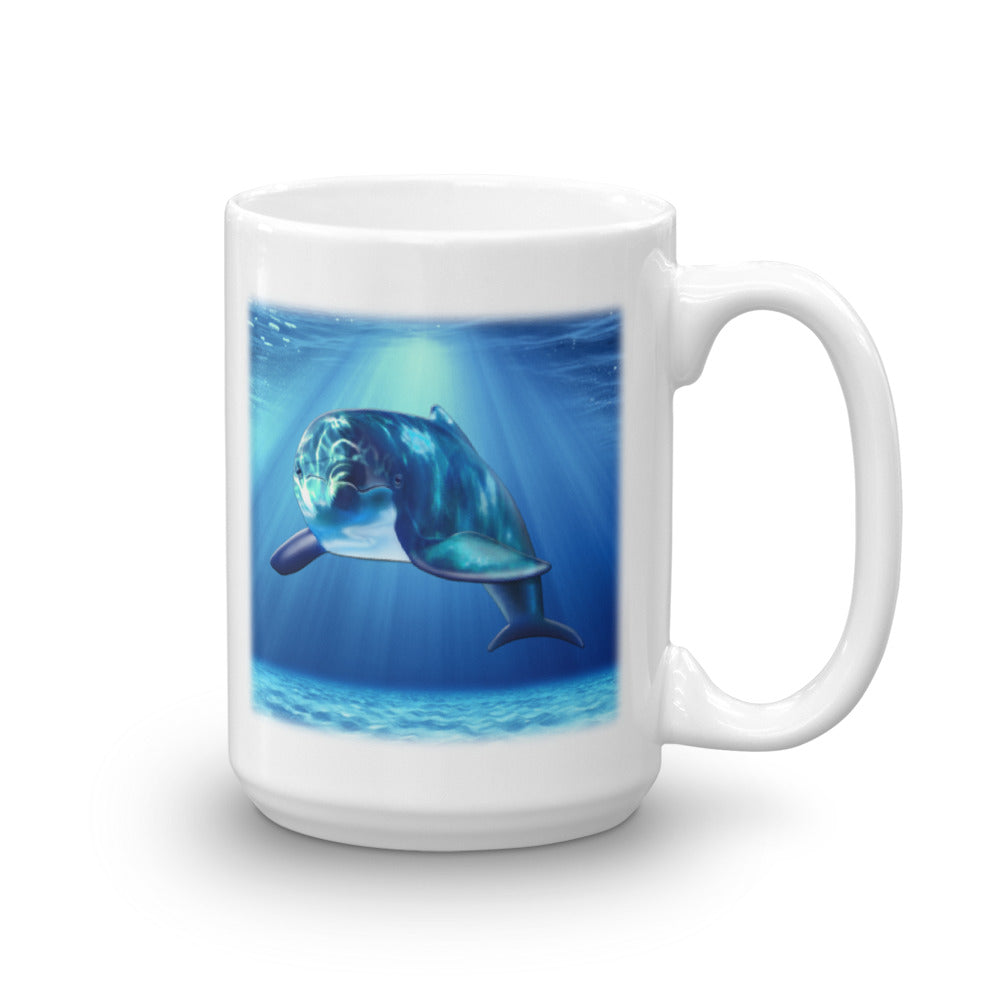 DOLPHIN 15-Ounce Mug by Mouthman®
