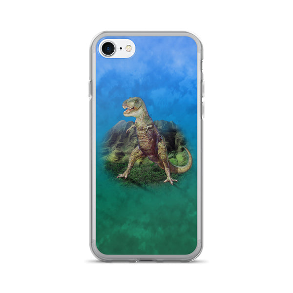 T-REX DINO-MITE iPhone 7/7 Plus Case by Mouthman®