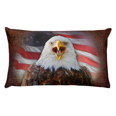 Eagle USA Rectangular Pillow by Mouthman®