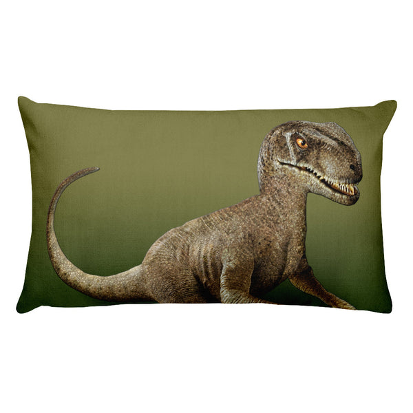 Raptor 3D Rectangular Pillow by Mouthman®