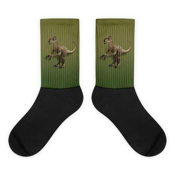 Raptor 3D Black Foot Socks by Mouthman®
