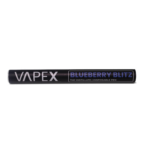 VAPEX Disposable Distillate Pen - 500mg THC - [BLUEBERRY BLITZ]