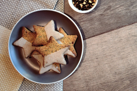 Recipe: Chai Spiced Shortbread.