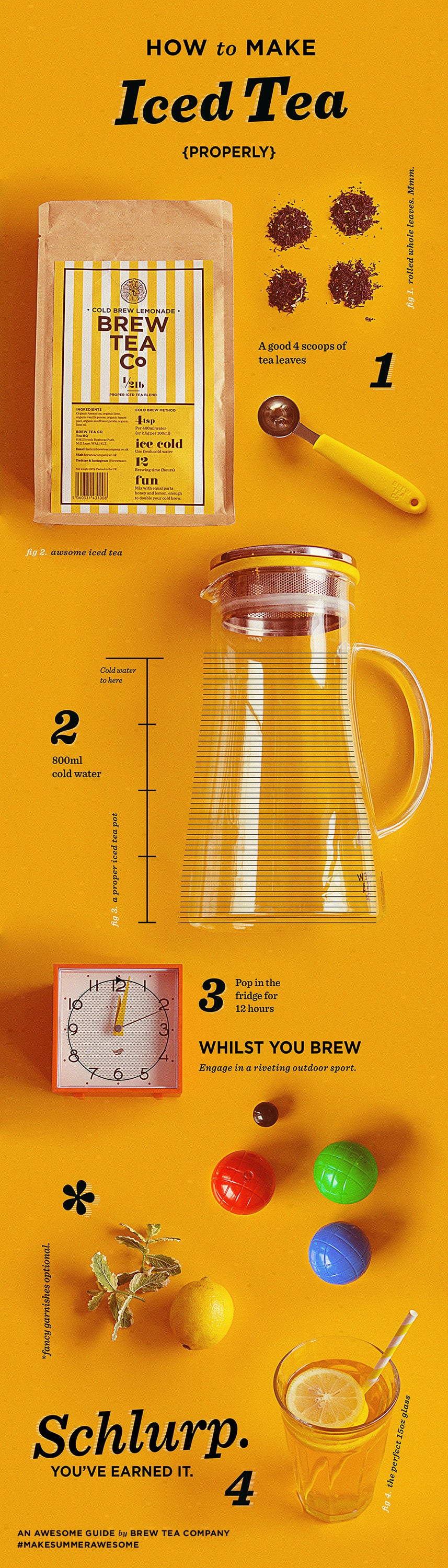 How To Make Iced Tea, The Awesome Way