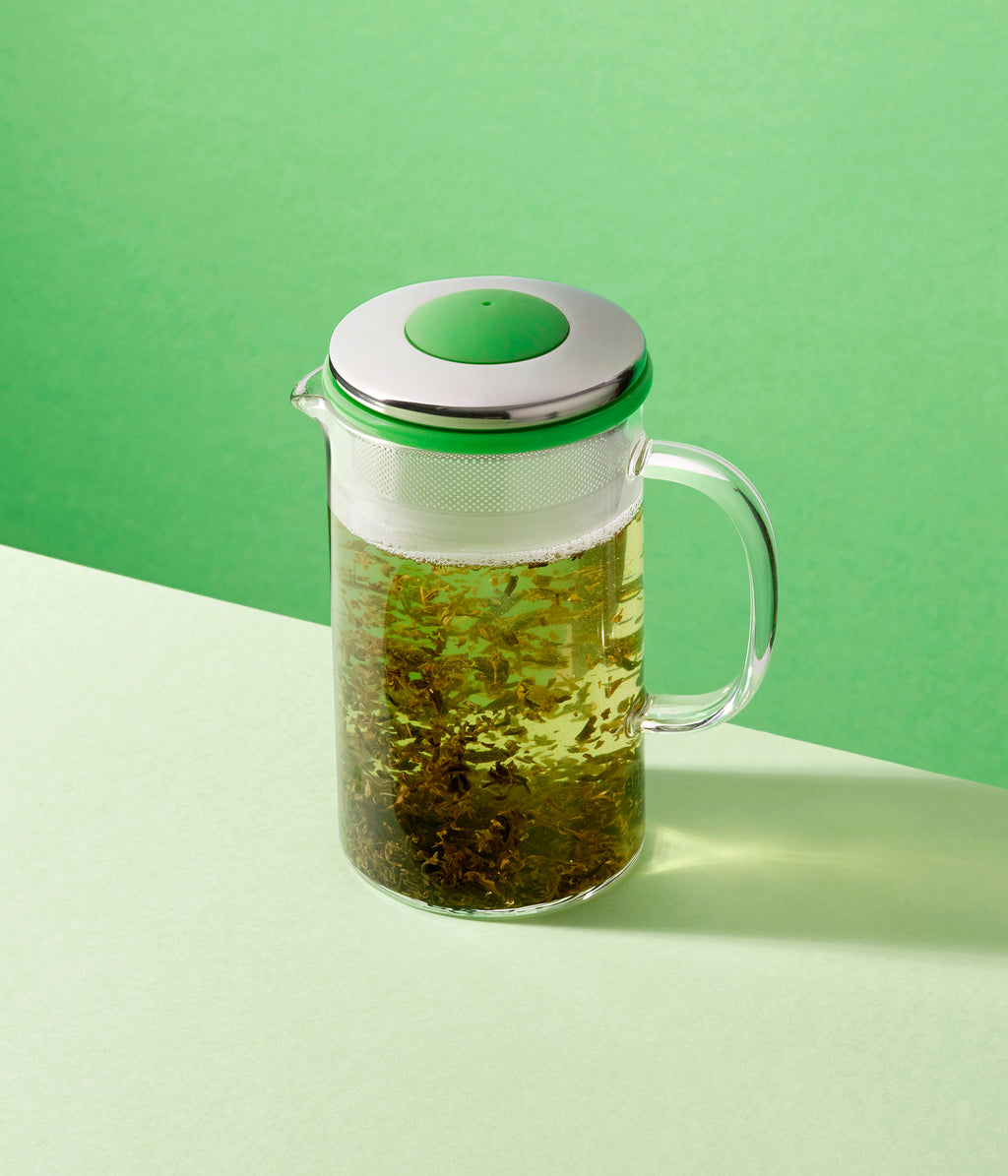 Brew Teapot {Green Tea Lime Green} - 400ml
