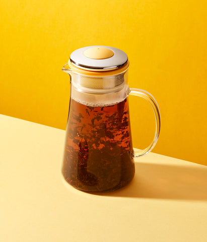 Tea Pot For Two {Yellow} - 800ml