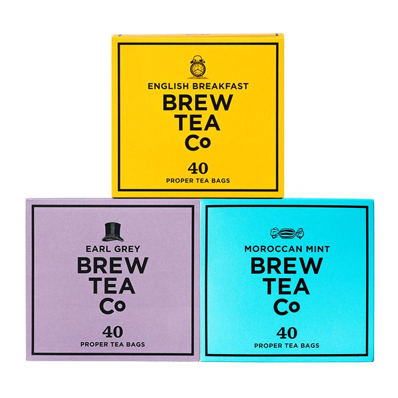 Proper Tea Bags - The 40s Tea Bag Triple Pack