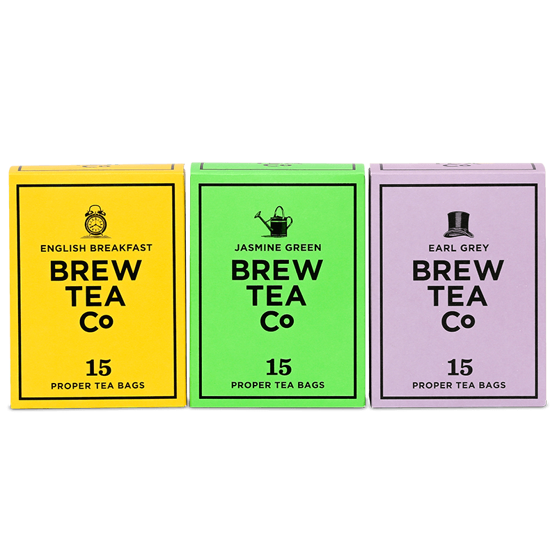 Proper Tea Bags - The Tea Bag Triple Pack