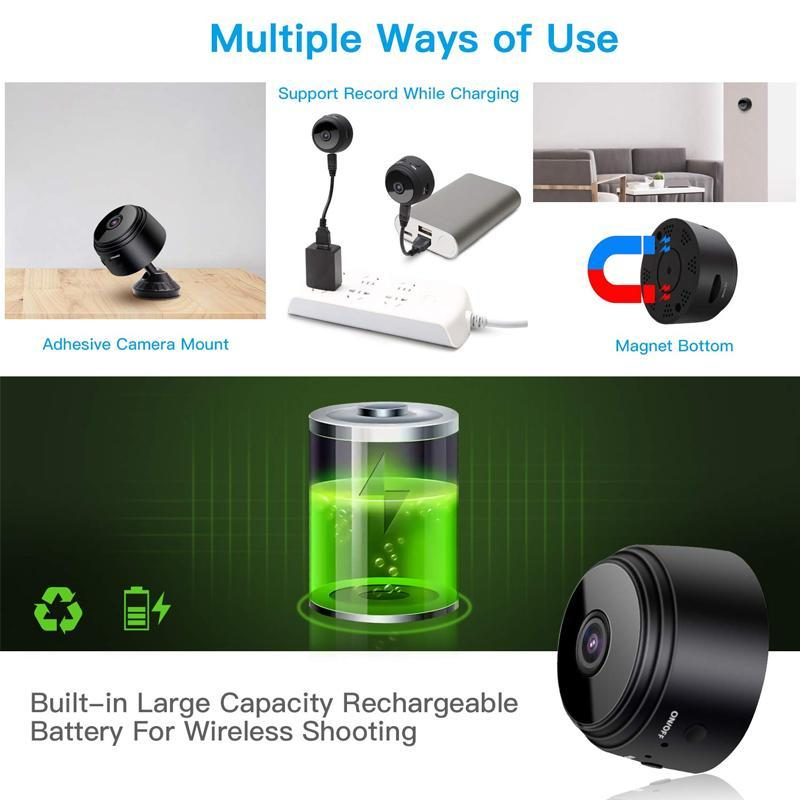 WiFi Mini Camera 1080p HD
