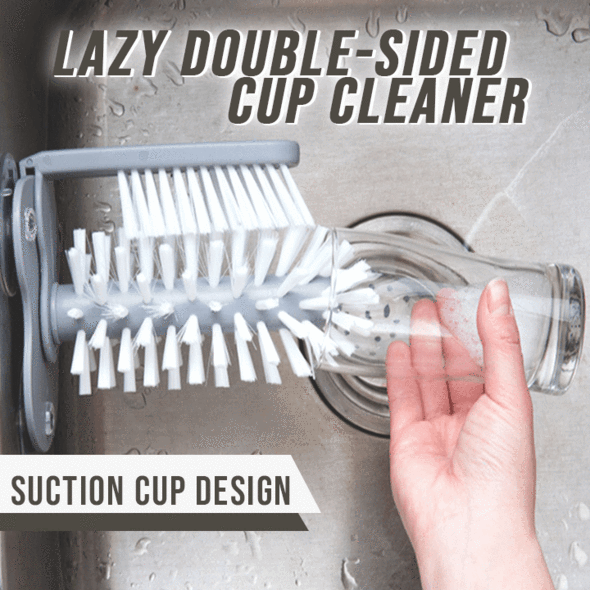 Lazy Double-Sided Cup Cleaner