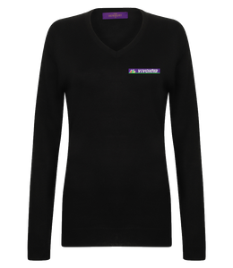 VIVOXTRA - VNECK JUMPER (LADY-FIT)