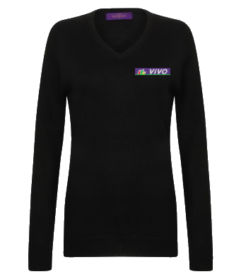 VIVO – VNECK JUMPER (LADY-FIT)
