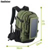 Solar Charging Business Backpack - pure Green leaf