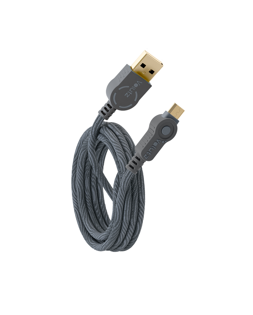 Micro USB to USB A Cable - Volutz