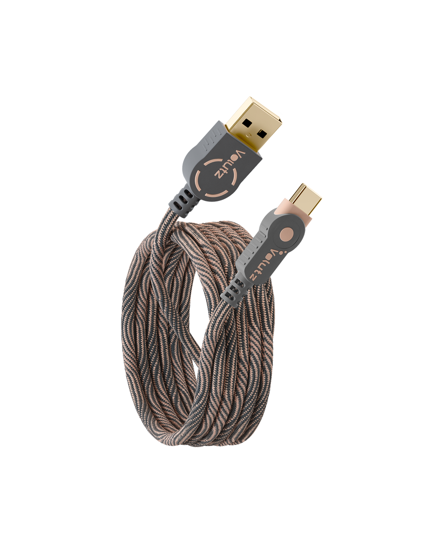 USB C to USB A 2.0 Cable - Volutz