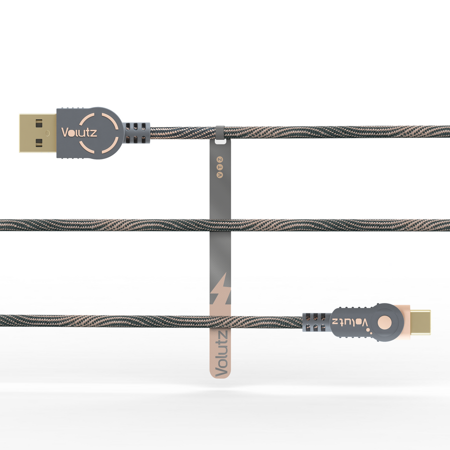 USB C to USB A 2.0 - Rose Gold