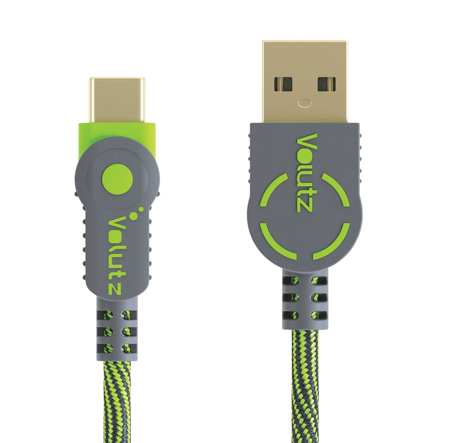 USB C to USB A 2.0 - Moss Green - Volutz