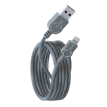 Lightning to USB A - Orchid Grey