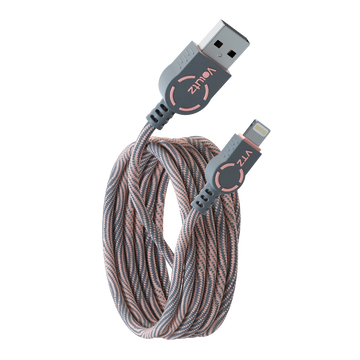 Lightning to USB A Cable - Rose Gold - Volutz