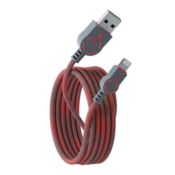 Lightning to USB A Cable - Ruby Red - Volutz