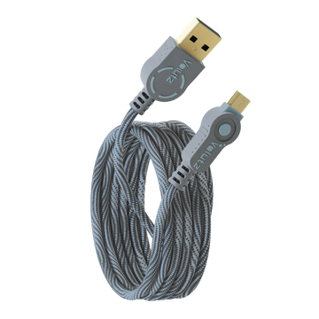 Micro USB to USB A Cable - Orchid Grey - Volutz