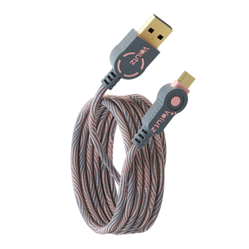 Micro USB to USB A - Rose Gold