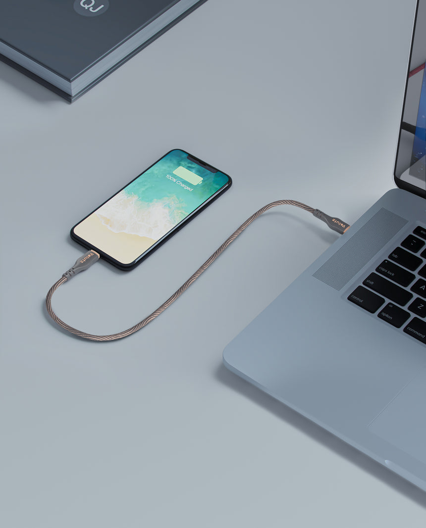 USB C auf Lightning-Kabel- Volutz