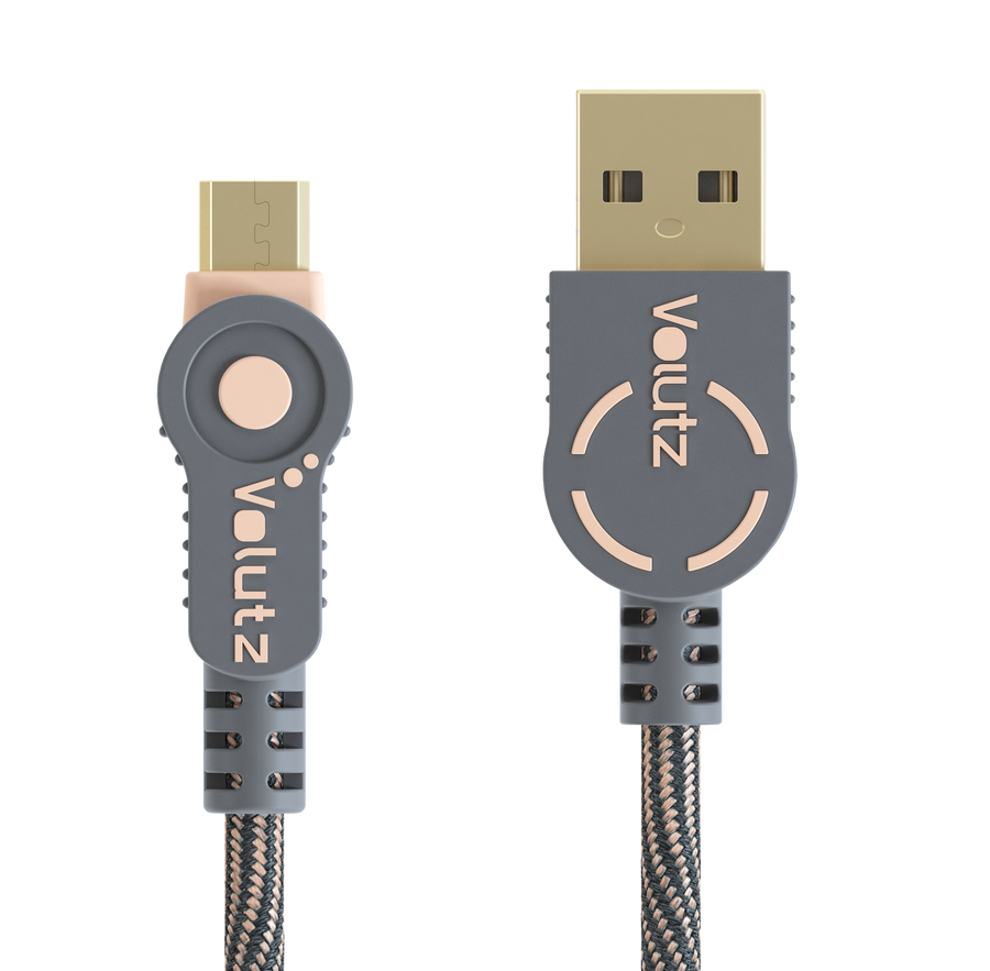 Micro USB to USB A - Rose Gold - Volutz
