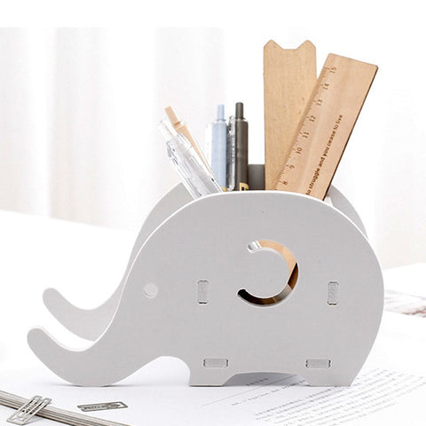 Elephant Style Pen Holder