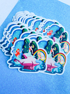 Mermaid Living Sticker